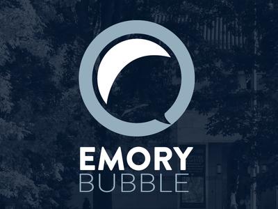 Emory Bubble branding