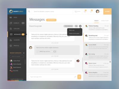 Launching Messaging!