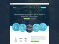 Wela personas homepage