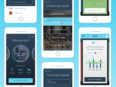 New Wela App Prototype prototype iphone ios ux ui app financial mobile
