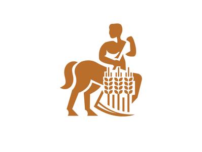 Сentaur farmer sickle scythe centaur