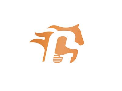 G letter logo horse racing horse logo logodesign logotype logo lettermark horse