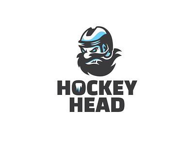 Hockey Head logotype logo mascot character mascot design mascot hockey logo hockey icehockey