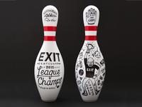 Exit Skateshop Bowling Trophy