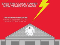 Save the Clock Tower: New Years Eve Bash