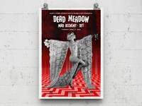 Dead Meadow gig poster