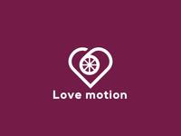 """Love Motion"" Logo exploration"