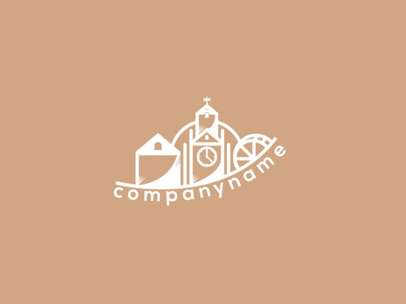 """Village"" Logo exploration ui website illustrator web icon minimal identity type flat vector illustration premade 2018 exploration d logo branding brand graphic design"