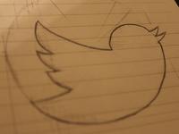 Twitter Logo Sketch