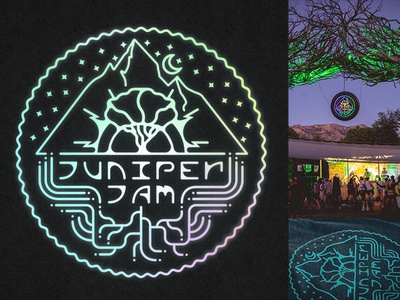 LED Sign & Shirt Design for Juniper Jam