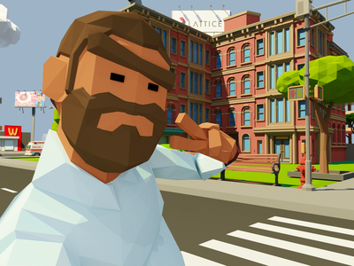 3D Character from Upcoming Project comingsoon web  design web city 3d