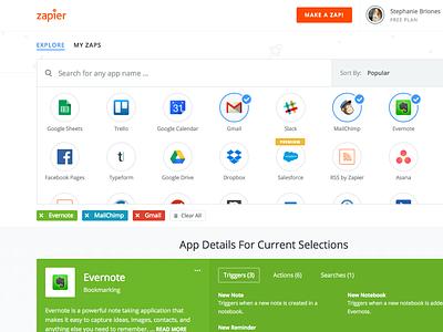 Explore search zap automation apps explore zapier