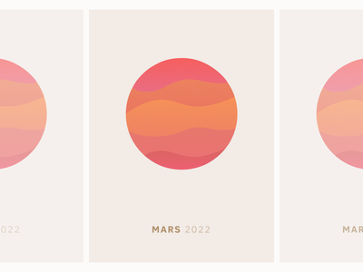 Mars Poster planet space mars poster