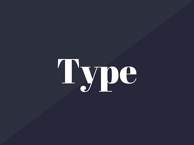 Type Pairings typefaces typography type