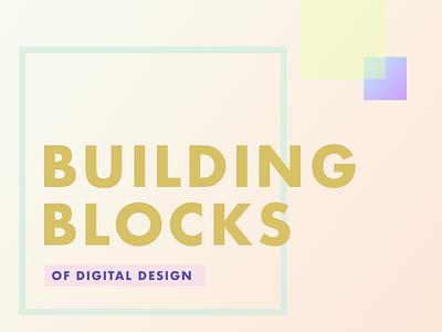 Exploration writing blocks squares design