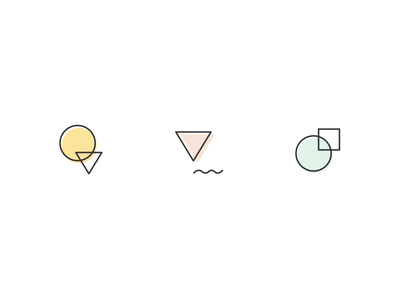 Twine Icons lines illustration abstract icons icon twine