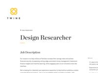 Twine Typography
