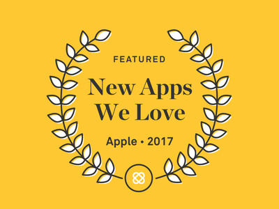 New Apps We Love crest featured app store twine