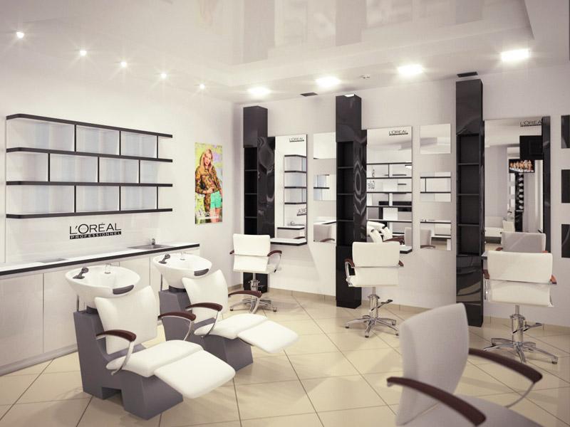 7th heaven beauty salon color bar and styling units by igor shevchenko on dribbble - Bar salon design ...