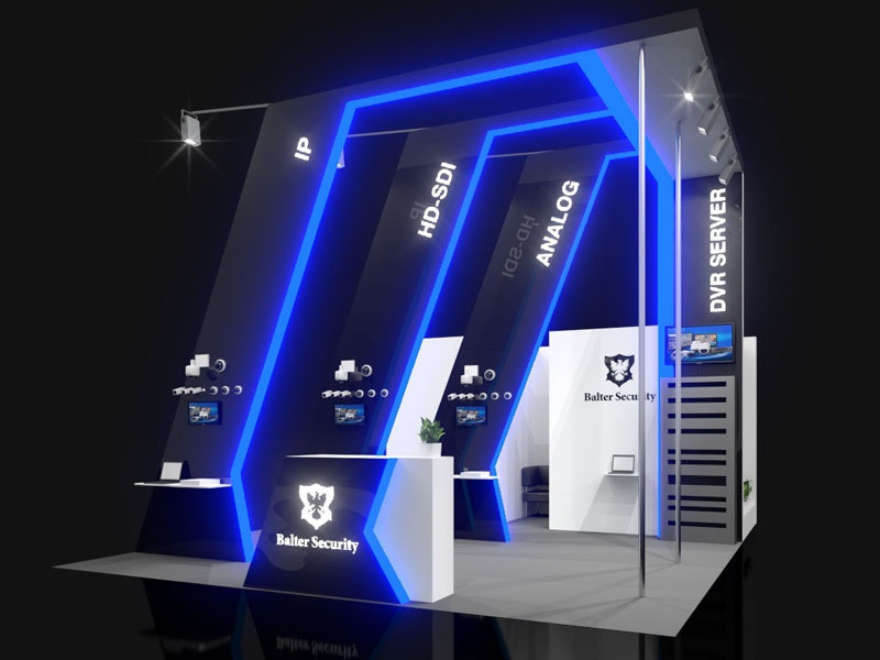 Exhibition Stand Design Concepts : Balter security exhibition stand design by igor shevchenko