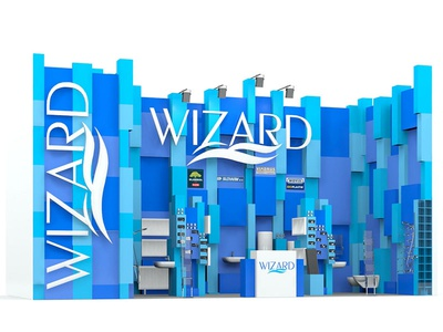Wizard booth design