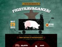 Pigstravaganza - Woah Alternate Green Background!