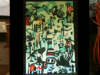 Painting In Studio 03