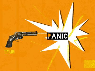 Toy Gun Panic blackout maridavid slide toy gun panic