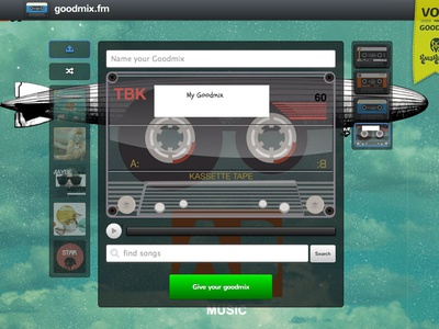 Goodmix.Fm - Build A Mix