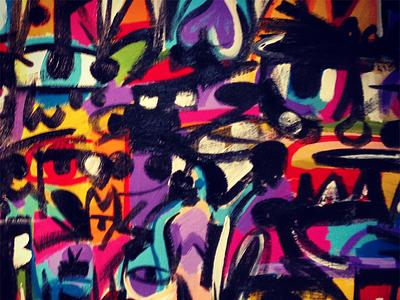 Purple Heart painting