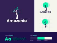 Amazonia Logo design 🌳