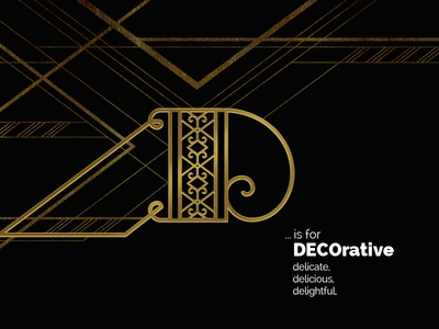 D Is For Decorative