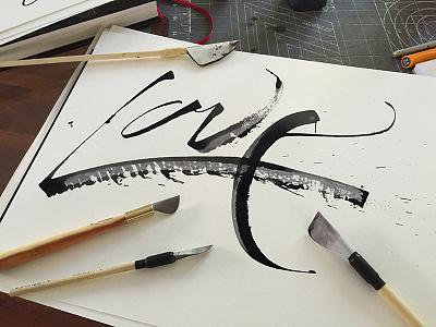 Love those custom pens love cola pen folded ruling pen ruling pen tools brush lettering
