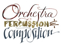 Orchestra, Percussion & Compostion