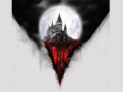 The Dark Castle design graphic creative manipulation photoshop