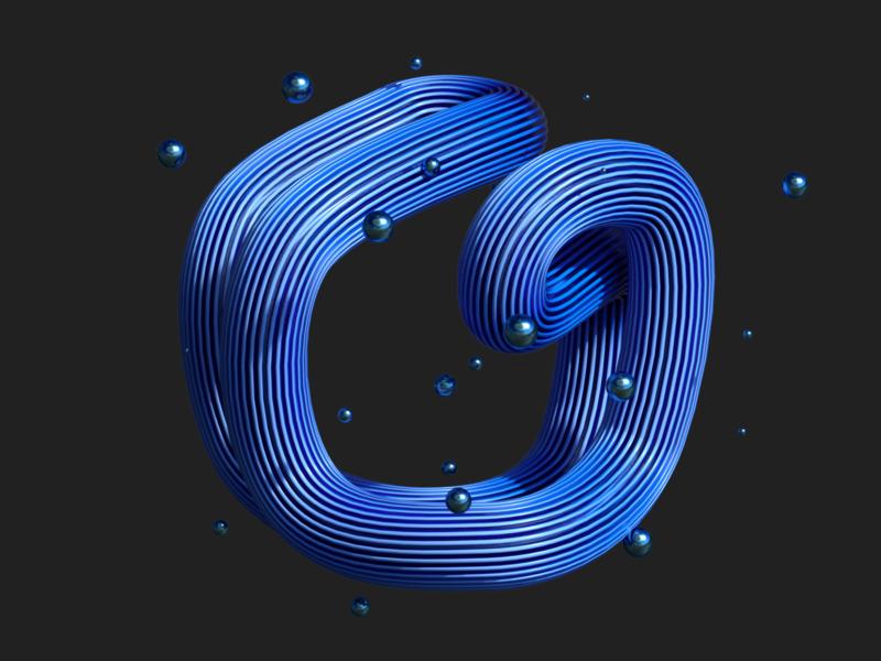Twine ps ux typography illustration logo branding ui cinema 4d cinema4d 3d art 3d
