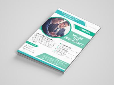 Flyer design graphic leaflet brochure flyer