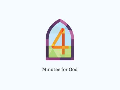 4 Minutes for God Logo