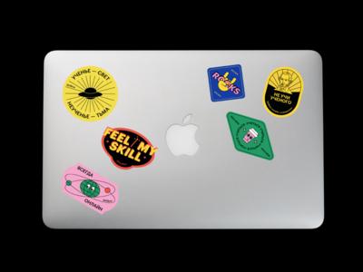 Stickers for Skillbox