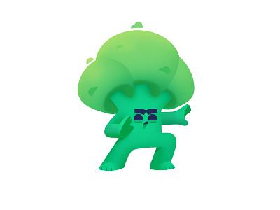 Martial arts Broccoli green veggies healthy cute hero food healthy food vegetable vegetables vector illustrator character shakuro healthcare health broccoli art illustration
