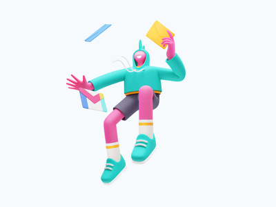 Conceptzilla Illustration digital artwork 3d character 3d illustration 3d art 3d graphic digital art character illustration illustration for web character design illustration art illustrator vector character shakuro design art illustration