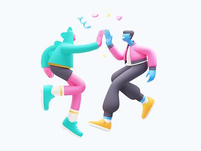 Conceptzilla: Mission Accomplished digital artwork done 3d illustration 3d art 3d graphic digital art character illustration illustration for web character design illustration art illustrator vector character shakuro design art illustration