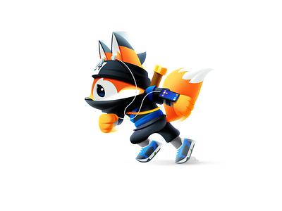 Fox Mascot Illustration mascot design hosting company flat fox logo fox illustration mascot logo digital art animal character fox character rebranding mascot fox vector illustrator shakuro design art illustration