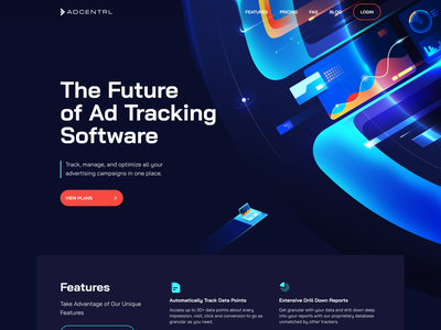 Analytics Software Homepage Illustrations vector photoshop campaign optimization tools home page ananlytics software data analytics management cloud-based tracking software illustration advertising branding web site web design ux ui