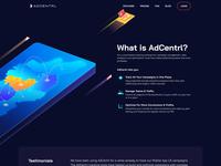 Automated Ads Platform Animated Illustration