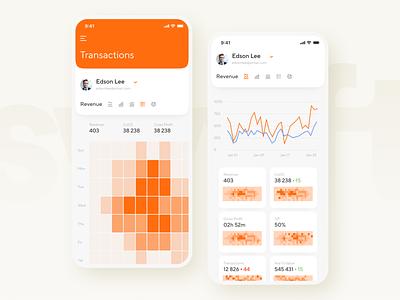 Swyft Dash Mobile Analytics dash design analytics app application mobile iphone xs xr dashboard swyft iphone 11 pro ios 13 ux ui