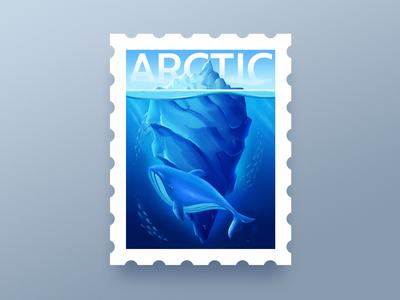 Arctic Stamp