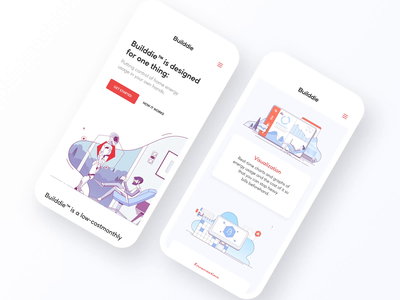 Builddie – Mobile Version Animation