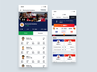 SWISH - Basketball App