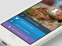 Restaurant rating app